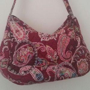 Vera Bradley women hobos hand bag paisely print